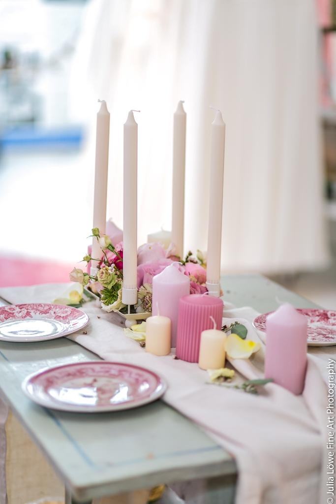 Tischdekoration,pastel,Kerzen,Tablescape,Max-liebt-Marie